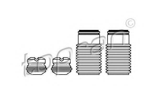 TOPRAN 924004 Пылезащитный комплект, амортизатор