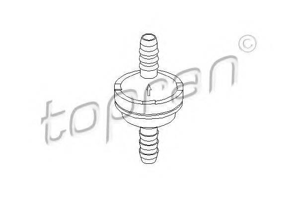 TOPRAN 206111 Клапан, усилитель тормозного механизма