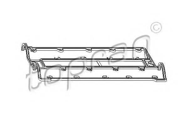 TOPRAN 201130 Прокладка, крышка головки цилиндра