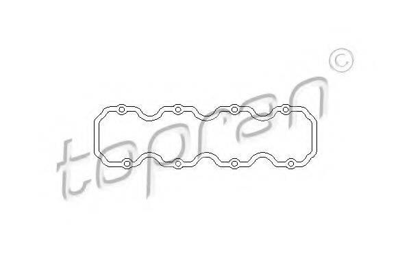 TOPRAN 201227 Прокладка, крышка головки цилиндра