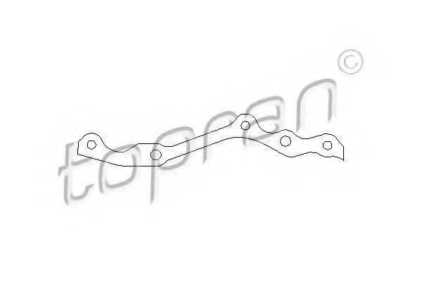 TOPRAN 201228 Прокладка, картер рулевого механизма