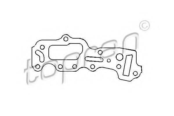 TOPRAN 201229 Прокладка, картер рулевого механизма