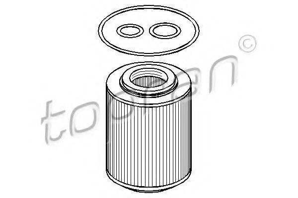 TOPRAN 206045 Масляный фильтр