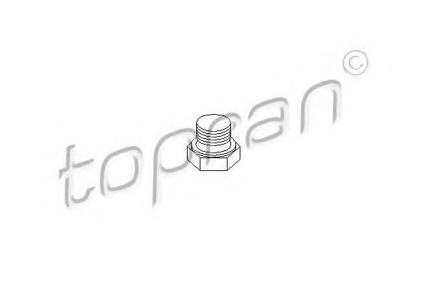 TOPRAN 201310 Резьбовая пробка, маслянный поддон