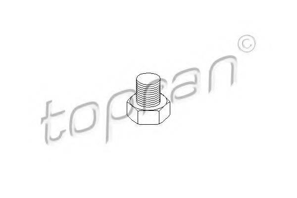 TOPRAN 206554 Резьбовая пробка, маслянный поддон