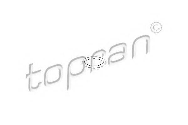 TOPRAN 207050 Уплотнительное кольцо, резьбовая пр