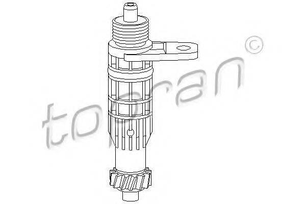 TOPRAN 201534 Угловая передача, тахометр