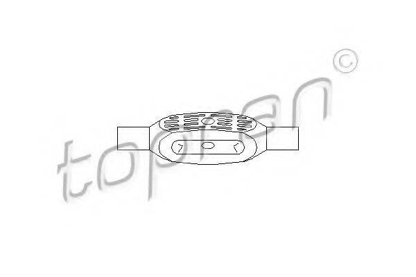 TOPRAN 206938 Шток вилки переключения передач