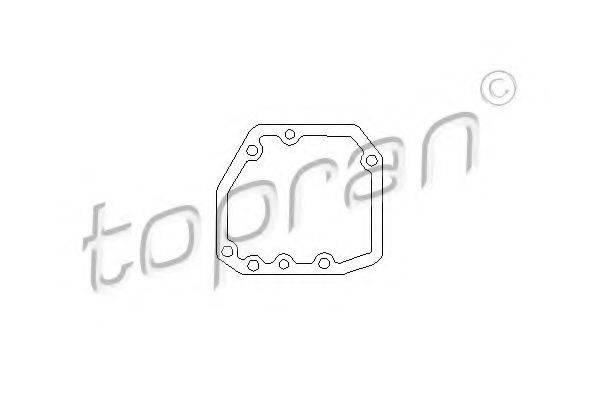 TOPRAN 201539 Прокладка, привод коробки переключения передач