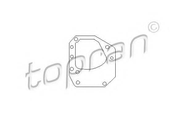 TOPRAN 206568 Прокладка, привод коробки переключения передач