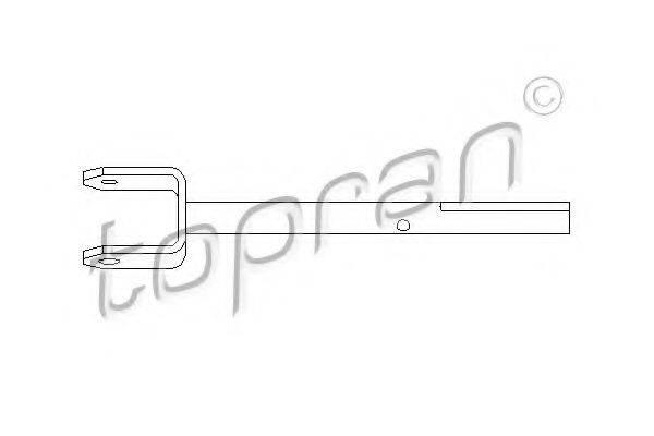 TOPRAN 207007 Шток вилки переключения передач