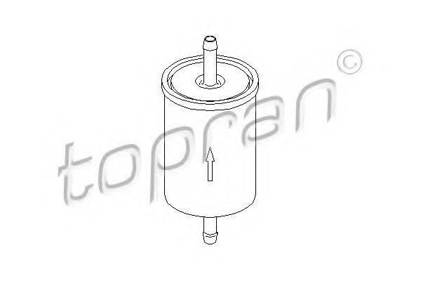 TOPRAN 201621 Топливный фильтр