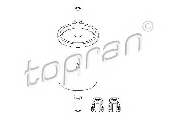 TOPRAN 201622 Топливный фильтр