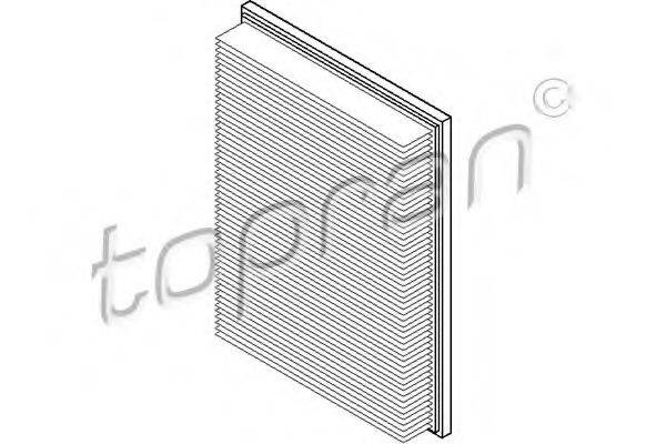 TOPRAN 205633 Воздушный фильтр