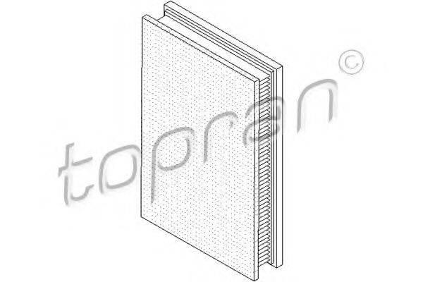TOPRAN 206977 Воздушный фильтр