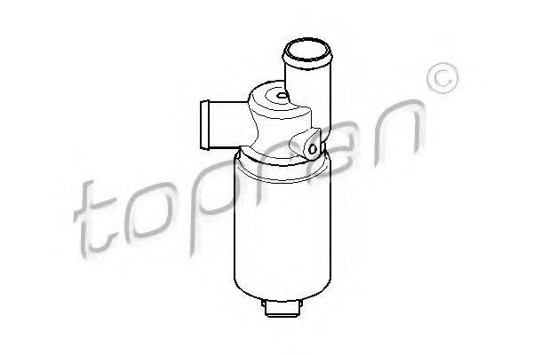 TOPRAN 207538 Поворотная заслонка, подвод воздуха