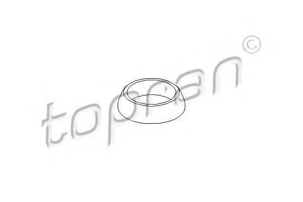TOPRAN 205066 Прокладка, труба выхлопного газа