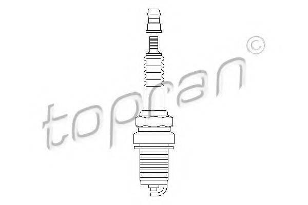 TOPRAN 205040 Свеча зажигания