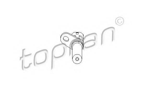 TOPRAN 206904 Датчик частоты вращения, управление двигателем