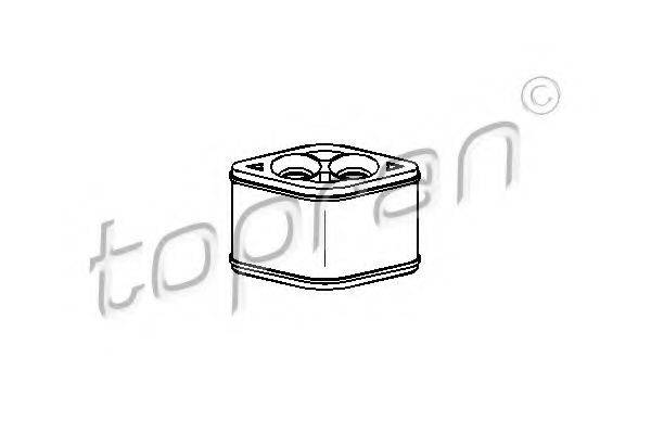 TOPRAN 207036 Подвеска, радиатор