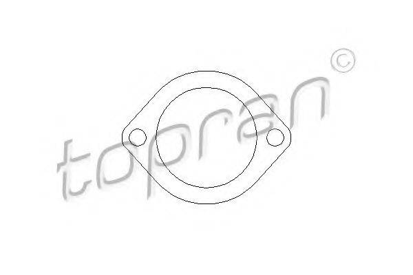 TOPRAN 206722 Прокладка, корпус термостата