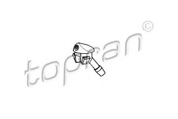 TOPRAN 202405 Распылитель воды для чистки, система очистки окон