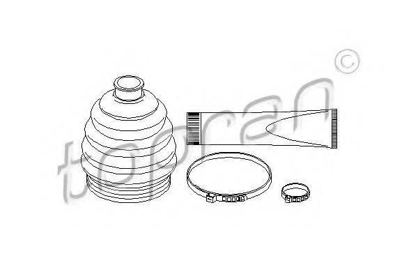 TOPRAN 202427 Комплект пылника, приводной вал