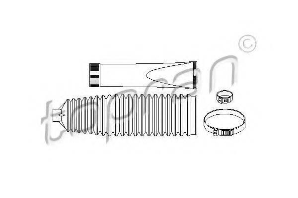 TOPRAN 206632 Комплект пылника, рулевое управление