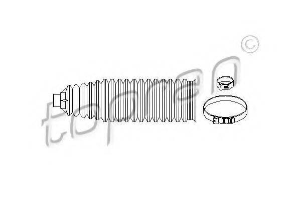 TOPRAN 206631 Комплект пылника, рулевое управление