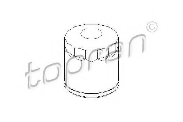 TOPRAN 206547 Масляный фильтр