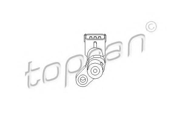 TOPRAN 207419 Датчик частоты вращения, управление двигателем