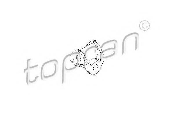 TOPRAN 207999 Шаровая головка, система тяг и рычагов