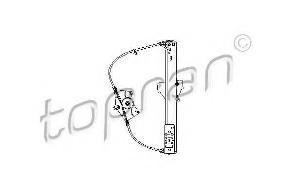 TOPRAN 113181 Подъемное устройство для окон