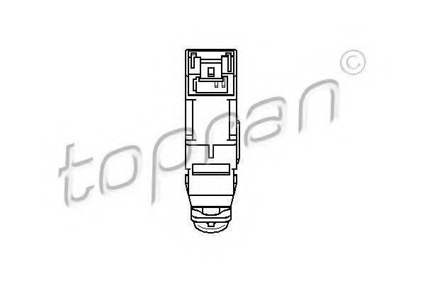 TOPRAN 207819 Выключатель, привод сцепления (Tempomat)