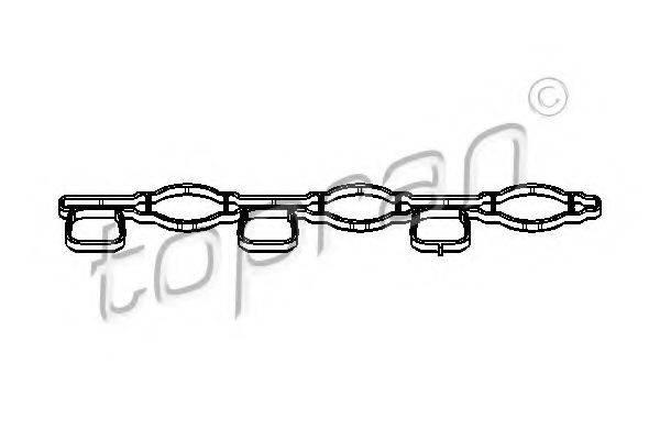 TOPRAN 112961 Прокладка, впускной коллектор