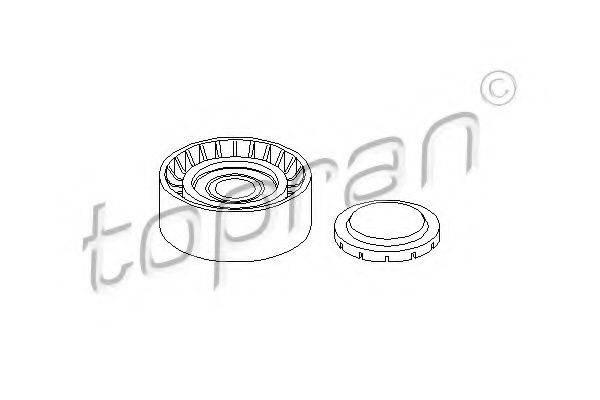 TOPRAN 113208 Паразитный / ведущий ролик, поликлиновой ремень