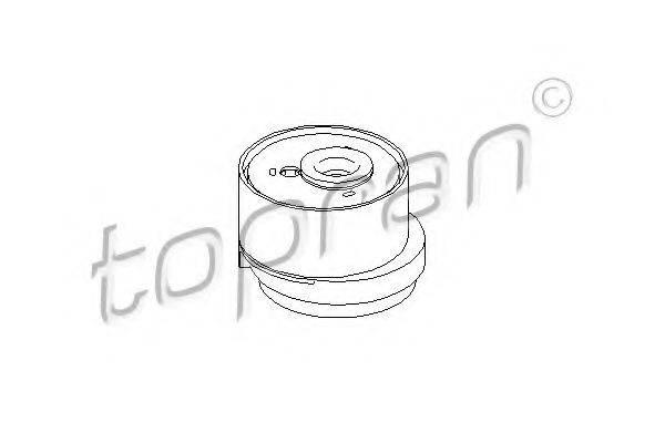 TOPRAN 207975 Натяжной ролик, ремень ГРМ