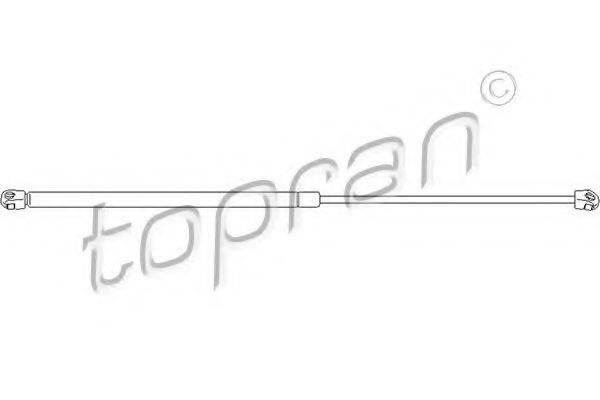 TOPRAN 113019 Газовая пружина, капот