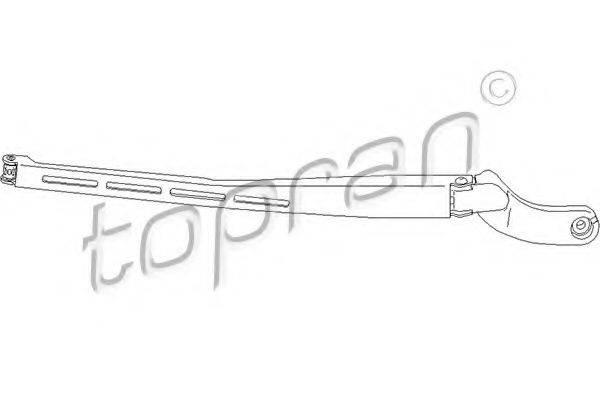 TOPRAN 113478 Рычаг стеклоочистителя, система очистки окон