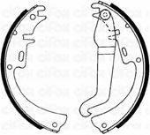 CIFAM 153301 Комплект тормозных колодок
