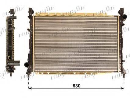 FRIGAIR 01132004 Радиатор, охлаждение двигателя