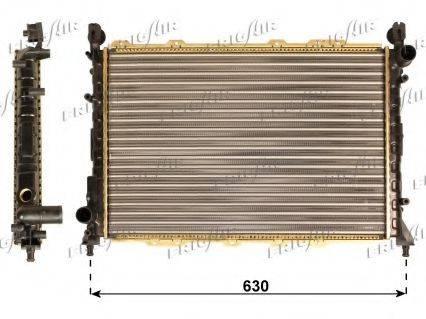 FRIGAIR 01133023 Радиатор, охлаждение двигателя