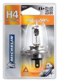 MICHELIN 008704 Лампа накаливания, фара дальнего света; Лампа накаливания, основная фара; Лампа накаливания, противотуманная фара