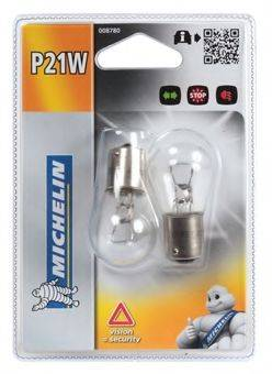 MICHELIN 008780 Лампа накаливания, фонарь указателя поворота; Лампа накаливания, фонарь сигнала тормож./ задний габ. огонь; Лампа накаливания, фонарь сигнала торможения; Лампа накаливания, задняя противотуманная фара; Лампа накаливания, фара заднего хода; Лампа накаливания, фара дневного освещения
