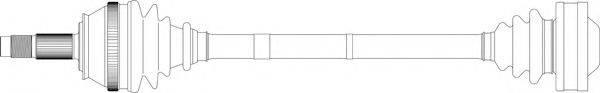GENERAL RICAMBI AR3051 Приводной вал