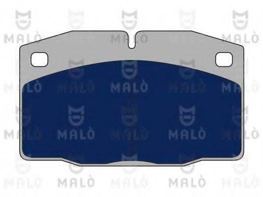 MALO 1050636 Комплект тормозных колодок, дисковый тормоз