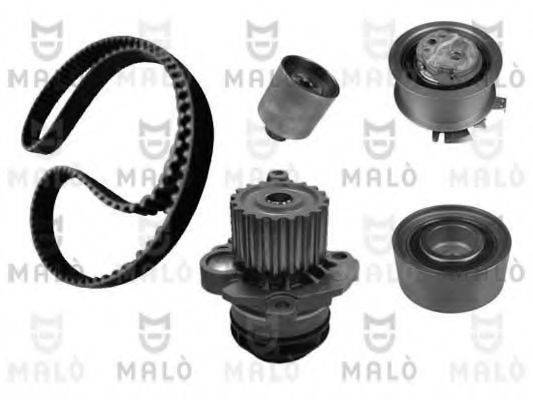 MALO W141300S Водяной насос + комплект зубчатого ремня