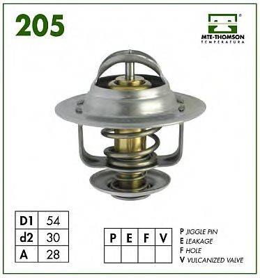 MTE-THOMSON 20592 Термостат, охлаждающая жидкость
