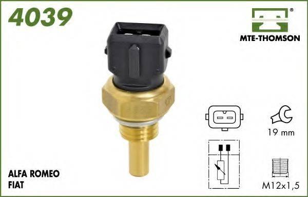 MTE-THOMSON 4039 Датчик, температура охлаждающей жидкости
