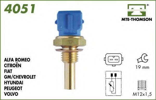 MTE-THOMSON 4051 Датчик, температура масла; Датчик, температура охлаждающей жидкости